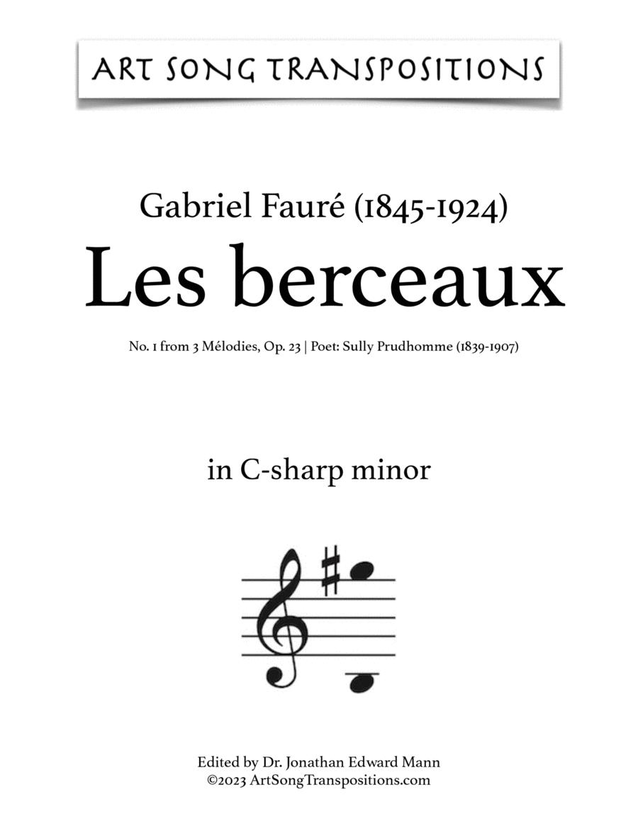 Les Berceaux, Op. 23 no. 1 (C-sharp minor)