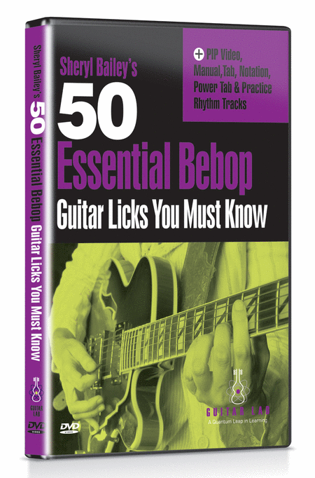 50 Essential Bebop Licks You Must Know DVD
