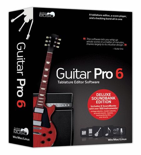 Guitar Pro 6.0 - Deluxe Soundbank Edition