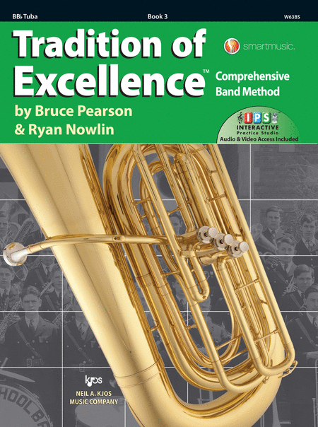 Tradition of Excellence Book 3 - BBb Tuba