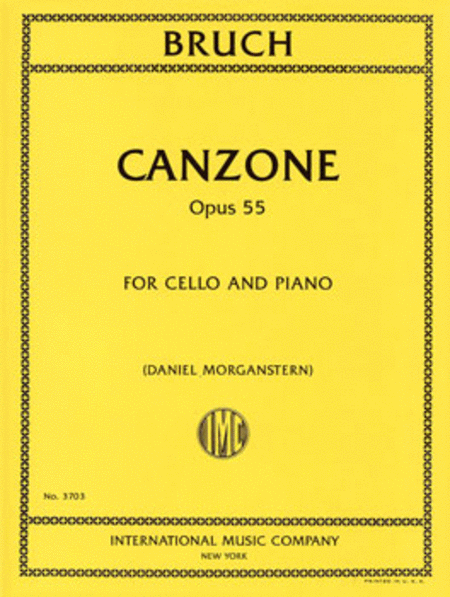 Canzone, Opus 55