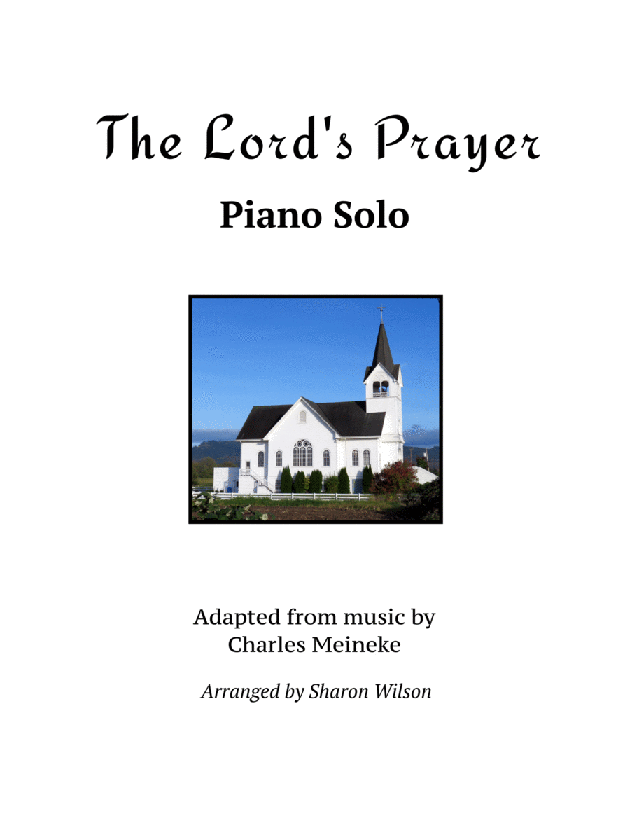 The Lord's Prayer (Piano Solo)