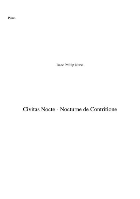 Nocturne de Contritione - Civitas Nocte
