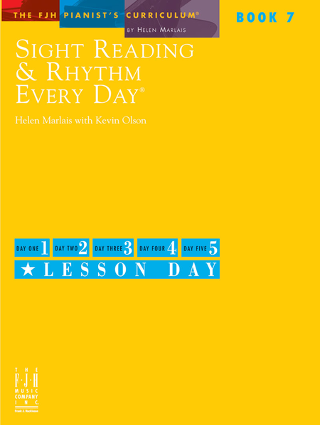 Sight Reading & Rhythm Every Day, Book 7