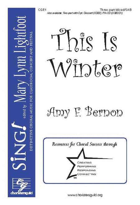 This Is Winter (Three-part Mixed/SAB)