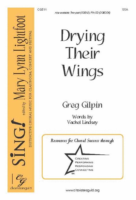 Drying Their Wings (2-part choir)
