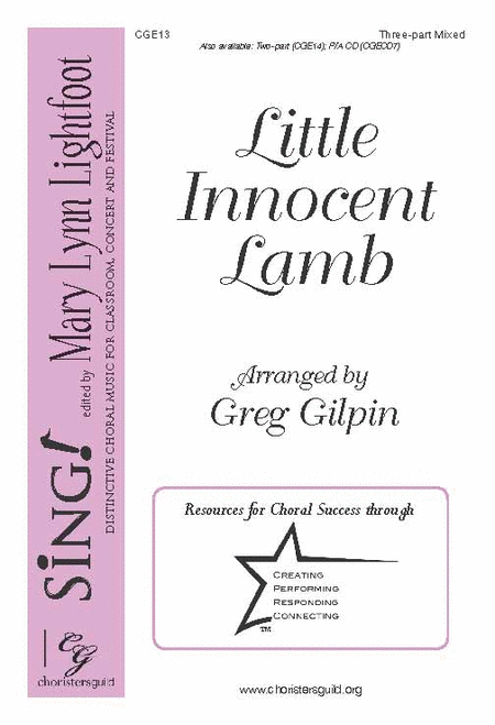 Little Innocent Lamb (Three-part Mixed)