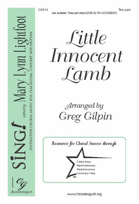 Little Innocent Lamb (Two-part)