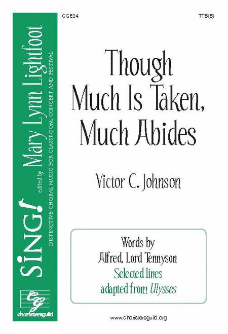 Though Much Is Taken, Much Abides (TTB(B))