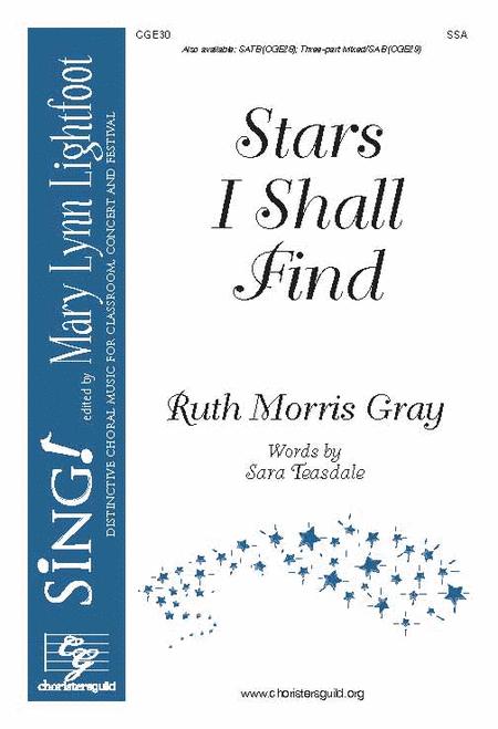 Stars I Shall Find (SSA)