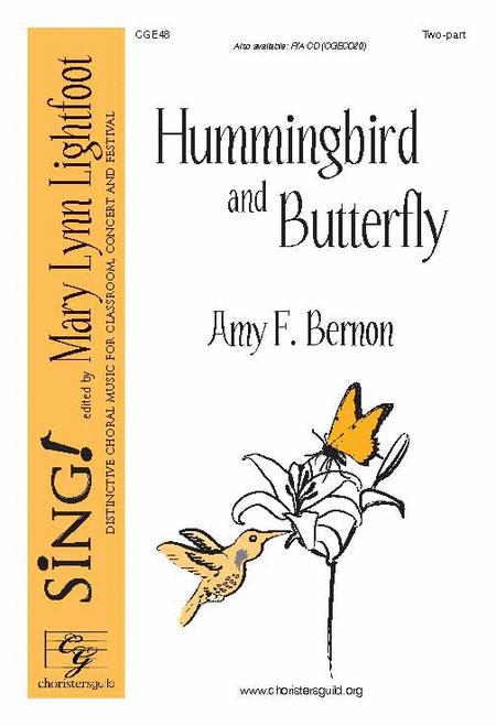 Hummingbird and Butterfly (2-part choir)