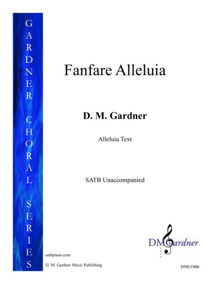 Fanfare Alleluia (SATB - Unaccompanied)