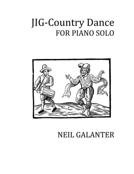 JIG - Country Dance for Piano Solo