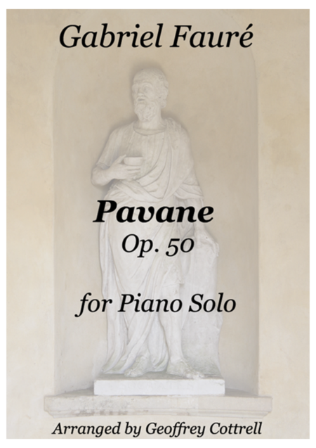 Pavane by Gabriel Fauré - piano arrangement