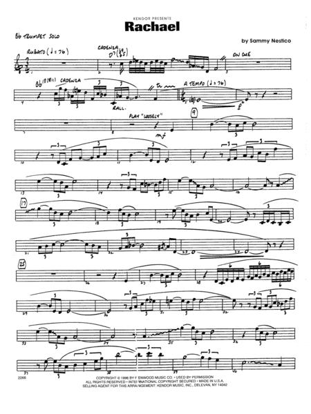 Rachael - Bb Trumpet Solo