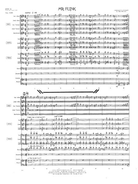 Mr. Funk - Full Score