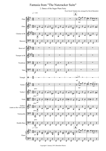 Dance of the Sugar Plum Fairy (from the Nutcracker) for School Orchestra