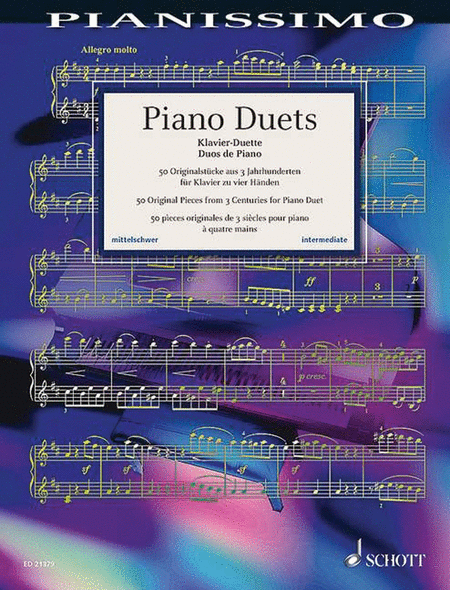 Piano Duets: 50 Original Pieces from 3 Centuries