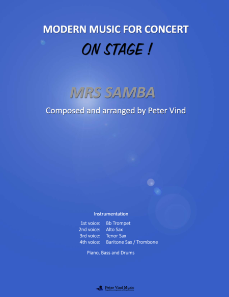 Mrs Samba - Stage Arrangements - By Peter Vind