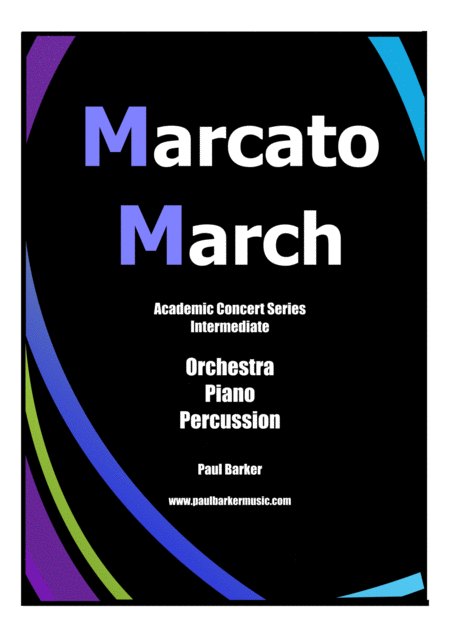 Marcato March (Score and Parts)