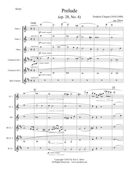 Prelude (Op. 28, No. 4)