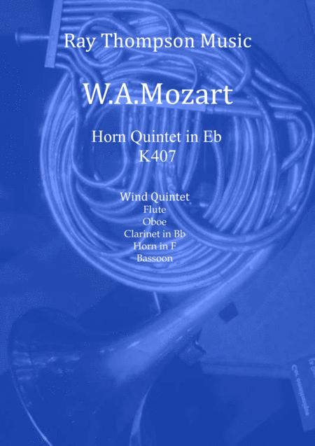 Mozart: Horn Quintet KV407 (Complete) - wind quintet