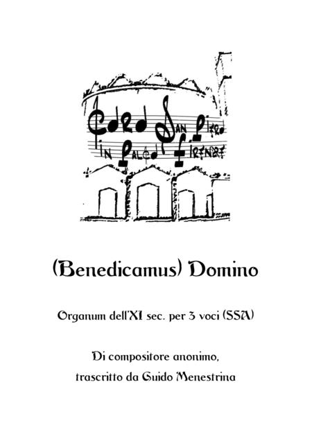 Benedicamus Domino - Medieval Motet SSA Transcribed by Guido Menestrina