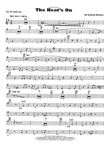 The Heat's On - 2nd Bb Tenor Saxophone