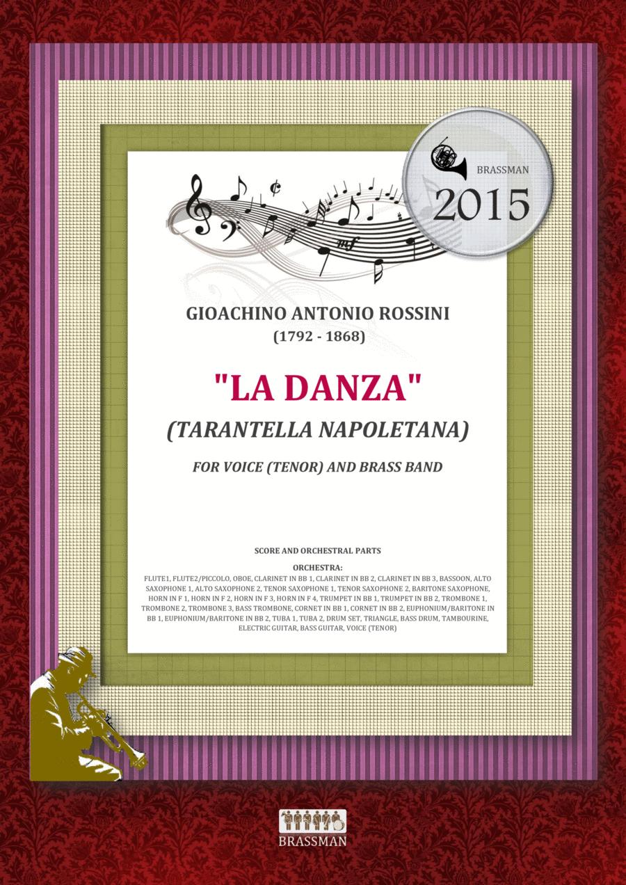 La Danza (Tarantella Napoletana) - for voice (tenor) and Concert Band