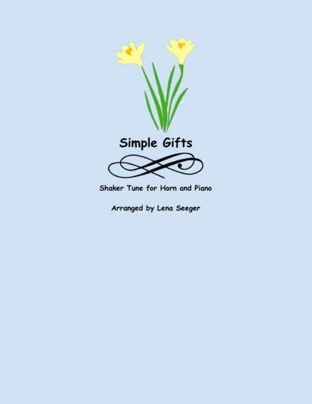 Simple Gifts (Horn and Piano)
