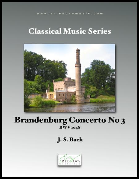 Brandenburg Concerto No 3 - BWV 1048