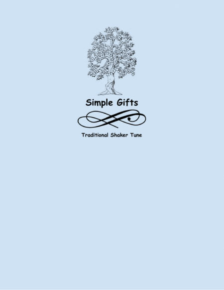 Simple Gifts (Bassoon and Piano)