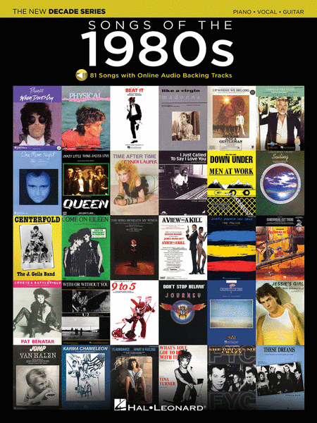 songs of the 1980s sheet music by various