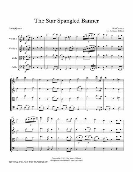 The Star Spangled Banner (National Anthem)