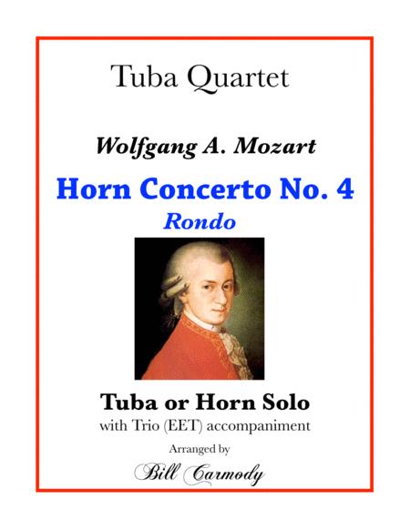 Horn Concerto No 4 mvt 3