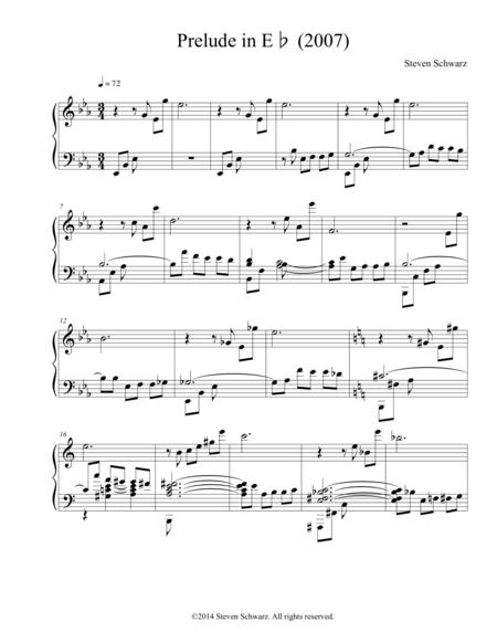 Prelude in E♭ (2007)