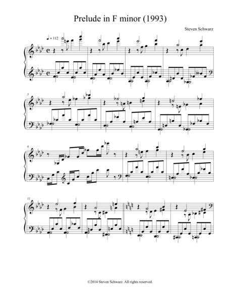 Prelude in F minor (1993)