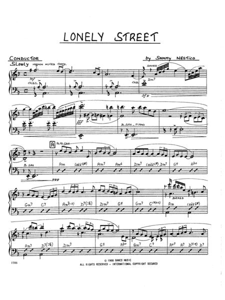 Lonely Street - Full Score