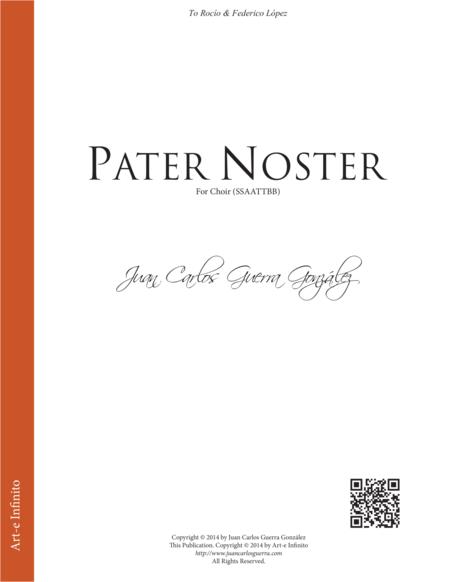 Pater Noster (SSAATTBB)