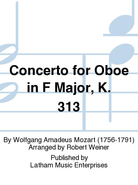 Concerto for Oboe in F Major, K. 313