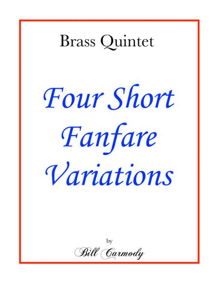 Four Short Fanfare Variations