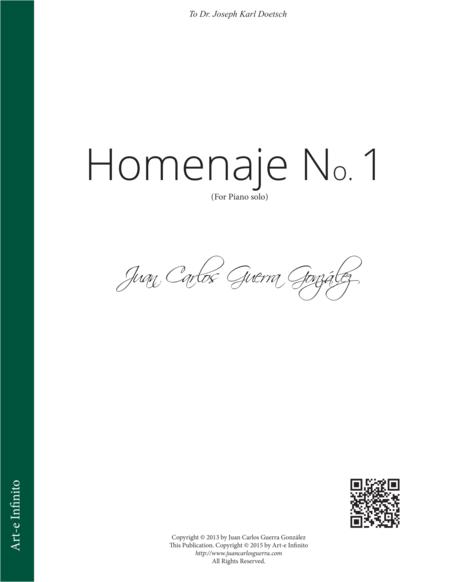 Homenaje No. 1 (Homage No. 1)