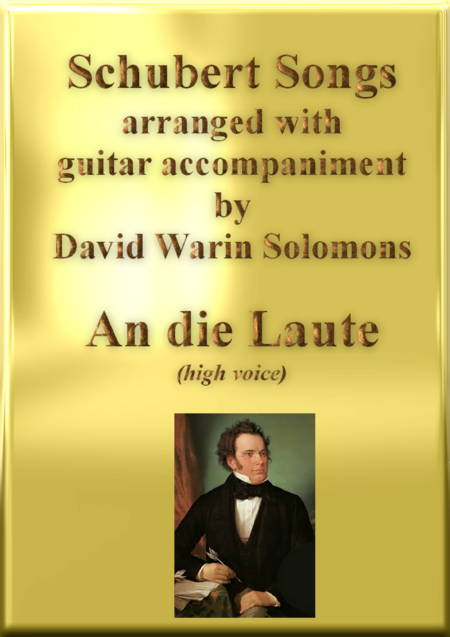 An die Laute high voice and guitar