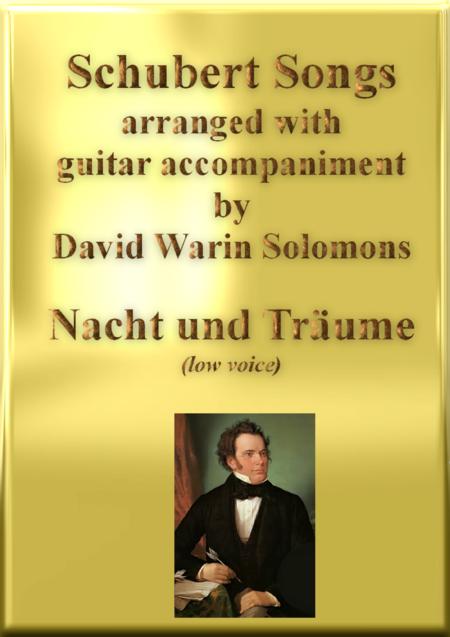 Nacht und Träume (Heil'ge Nacht) low voice and guitar