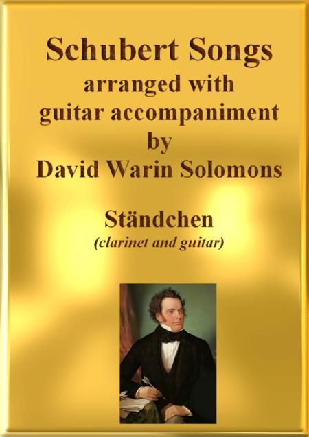 Ständchen (Leise flehen meine Lieder) for clarinet and guitar