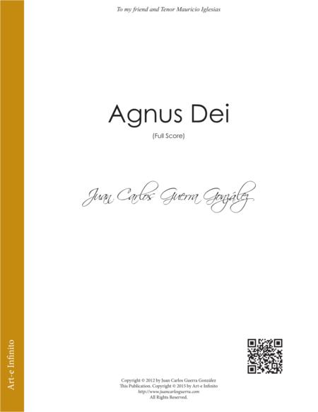 Agnus Dei (Full Score)