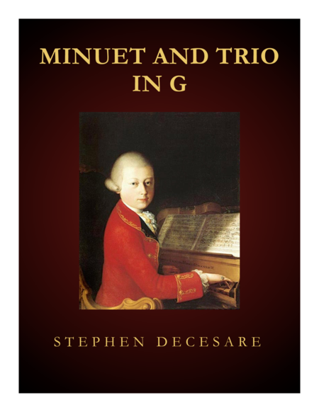 Minuet and Trio in G