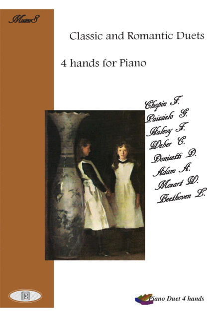 Classic Romantic duets for piano 4 hands