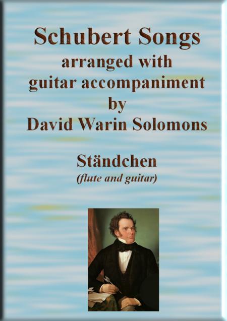 Ständchen (Leise flehen meine Lieder) for flute and guitar