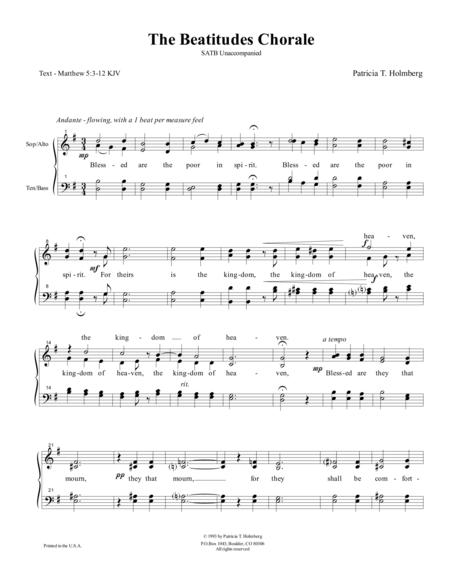 The Beatitudes Chorale